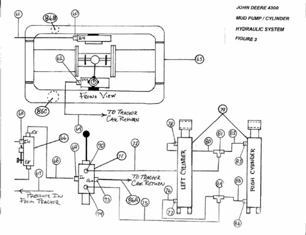 tractor hydraulic system schematic  tractor  free engine image for user manual download